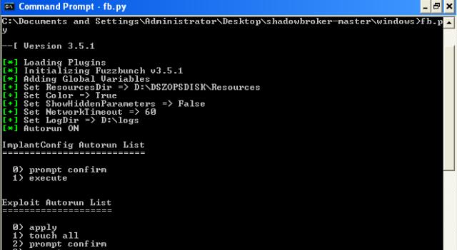 How to set up Fuzzbunch (Shadowbroker's Dump/NSA Tools) – root@Hausec